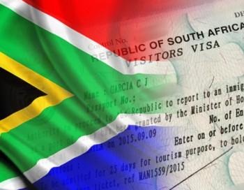 تأشيرة جنوب أفريقيا